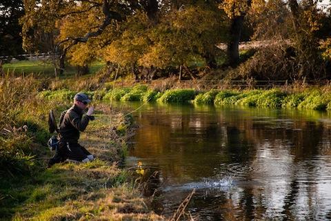 autumn fly fishing